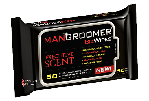 MANGROOMER Biz Wipes Man Wipes