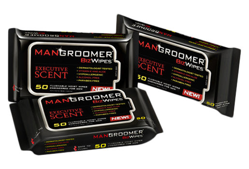 MANGROOMER Biz Wipes Butt Wipes three pack